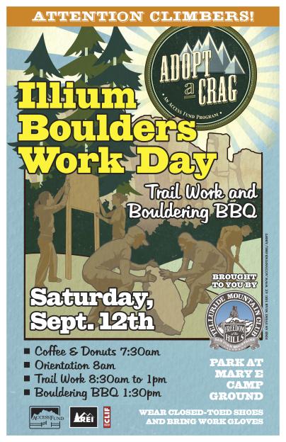 Illium event poster